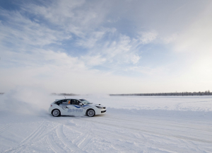Champion Ice Driving for Rukan Salonki