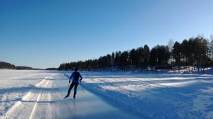 Saimaa Skating for Holiday Resort Harjun Portti