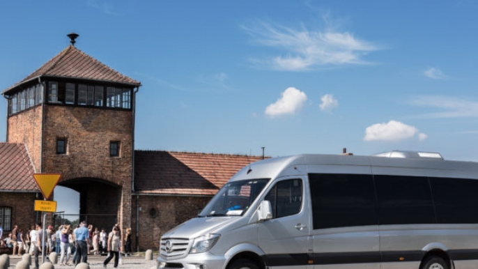 Birkenau Concentration Camp Tour for Mr Shuttle