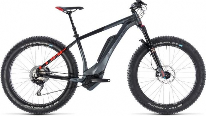 Cube Nutrail Hybrid e-fatbike for Roll Outdoors Oy