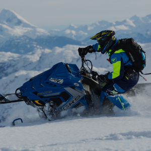 Snowmobiles and sledging
