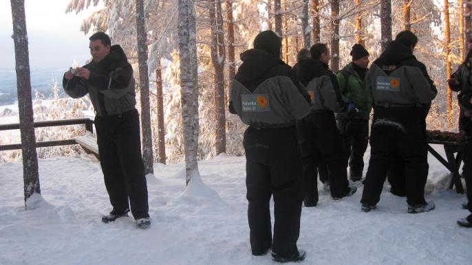 Snowmobile Safari for Varjola Resort & Activities