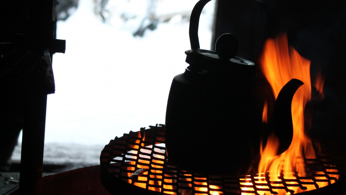 Snowshoe trek to Finnish Forest for Varjola Resort & Activities