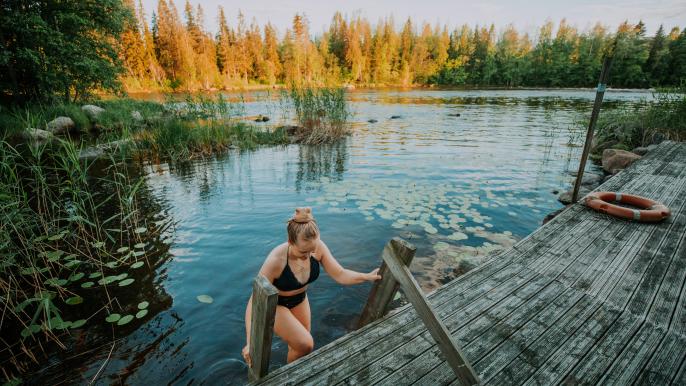 Savusauna & Poreallas for Varjola Resort & Activities