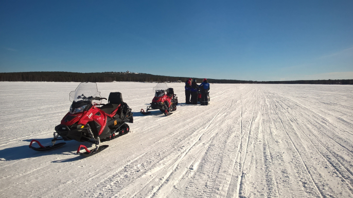 Snowmobile Safari on the Tundra for Lapland Welcome Ltd