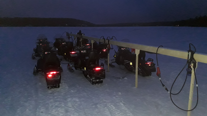 Taste of Electric Snowmobiling for Aurora eMotion