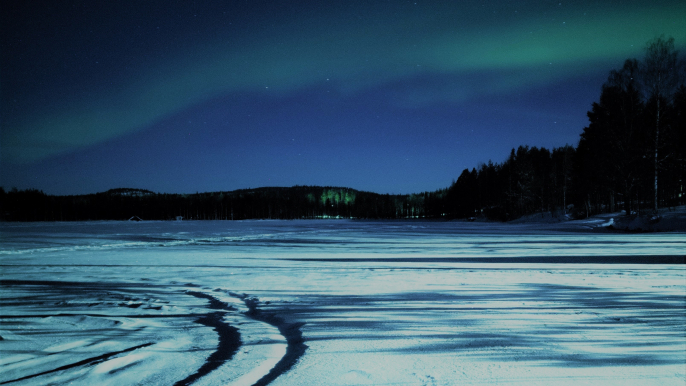 Northern Lights Safari by Electric Snowmobiles for Aurora eMotion