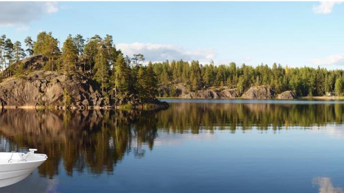 Boat fishing tour  (Puumala, 3 hours) for LakelandGTE
